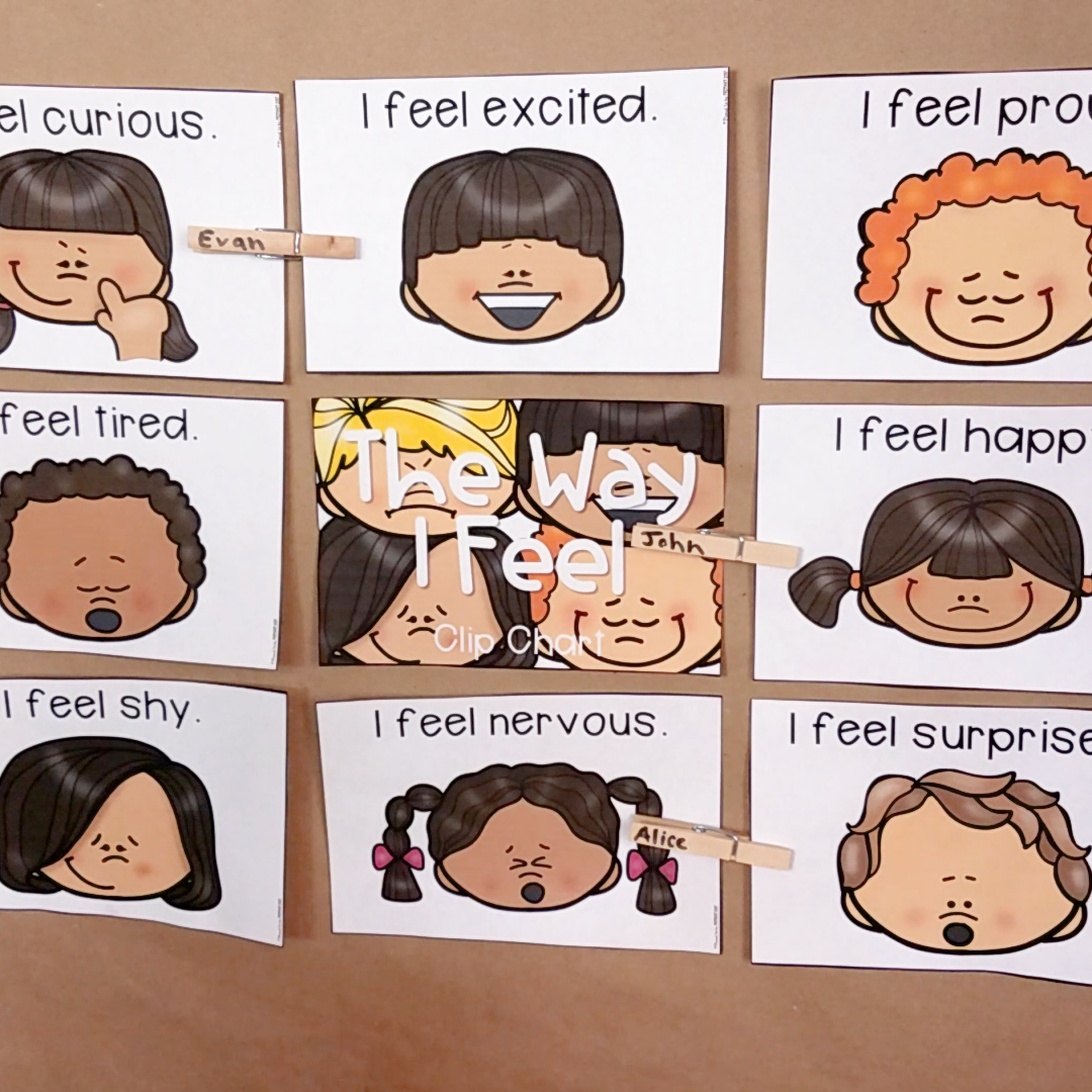 Teaching Children About Emotions In The Classroom