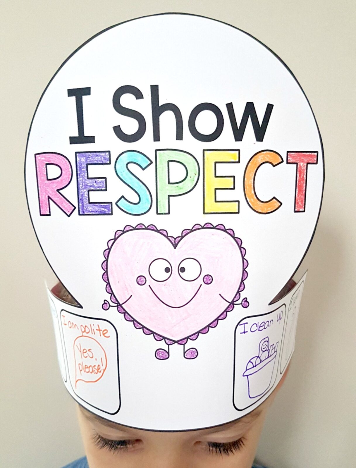Definition Of Respect For Kids