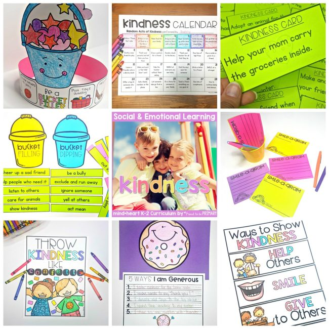 kindness books and videos - kindness sel unit for the classroom