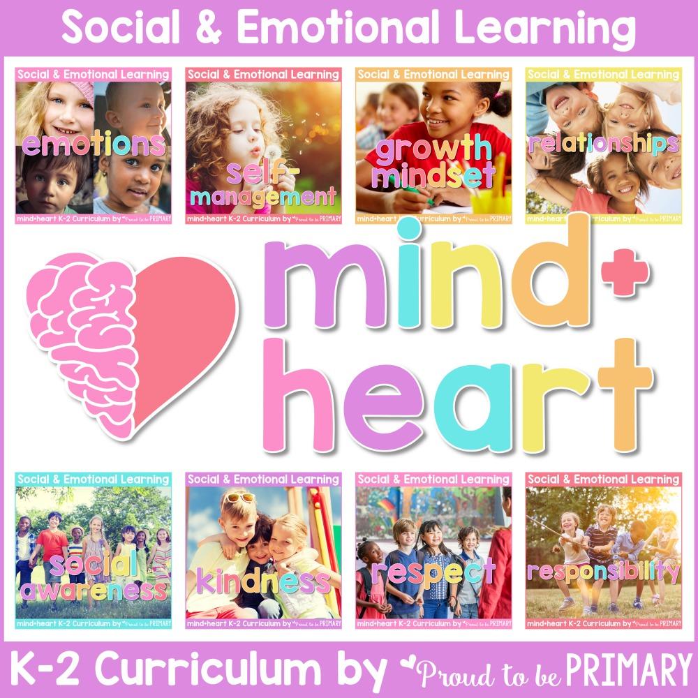 mind+heart social emotional learning bundle