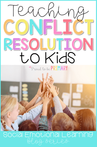 Conflict Resolution activities for the classroom