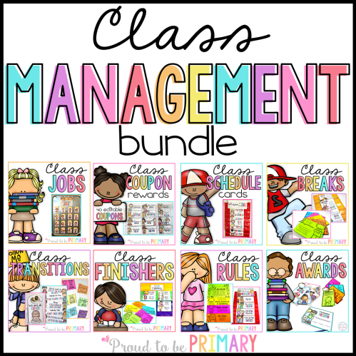 classroom management resources for the primary classroom