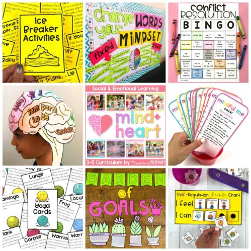 mind+heart social emotional learning resource for 3-5 proud to be primary