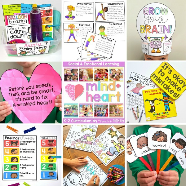 mind+heart social emotional learning resource for K-2 proud to be primary