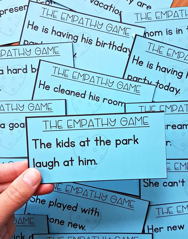 empathy game - social emotional learning for kids