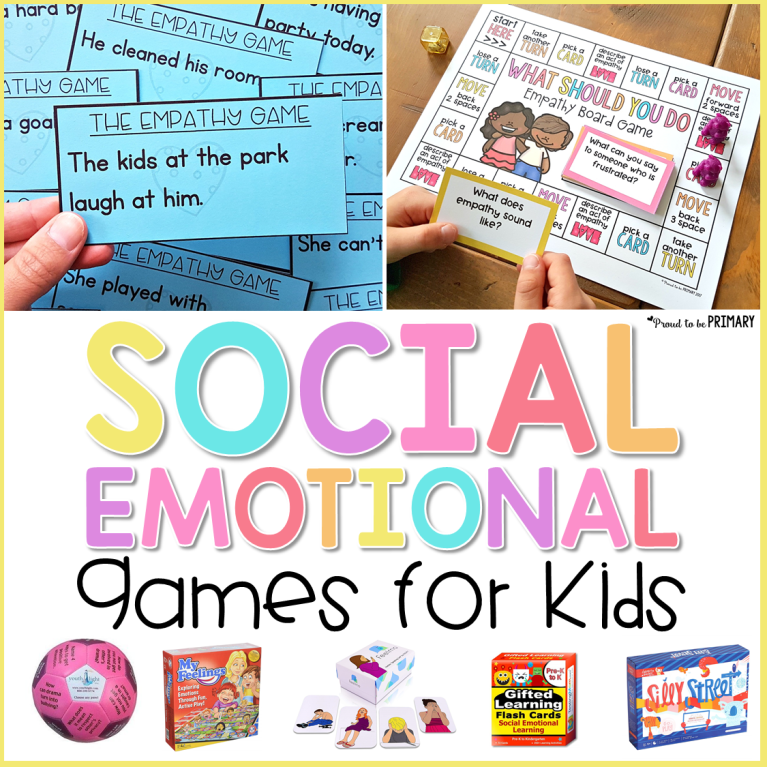 16 Social Emotional Learning Games For Kids Proud To Be Primary