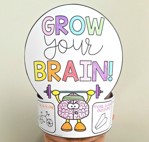 Train Your Brain - Developing Growth Mindset