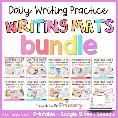 printable and digital writing prompts