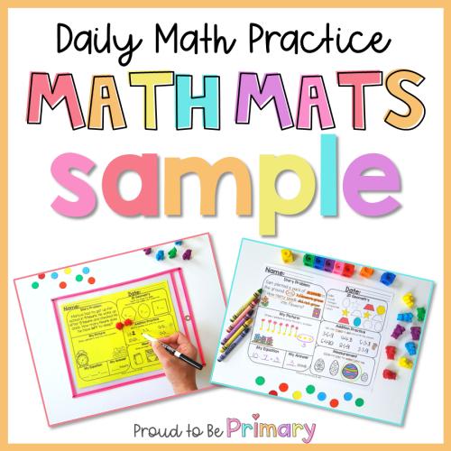 math mats sample