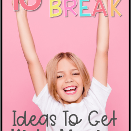 brain break ideas to get kids moving