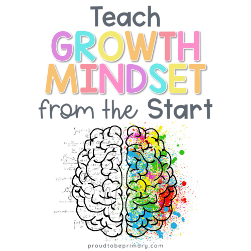 Growth Mindset in the Classroom for back to school