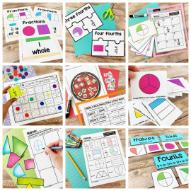 resources and lessons for teaching fractions in primary