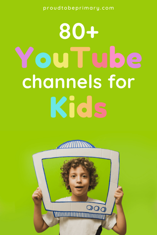 80+ Educational Youtube Channels for Kids