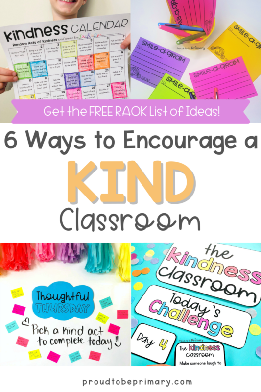 encourage random acts of kindness for kids in the classroom (9)