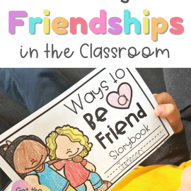 Friendship Building Activities for the K-3 Classroom: Printable Storybook