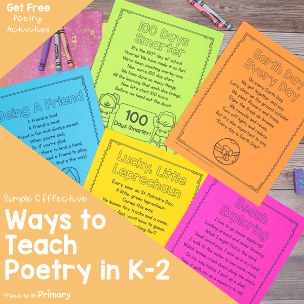 How to Teach Poetry in K-2: Simple and Effective Ways