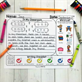 writing prompt mats