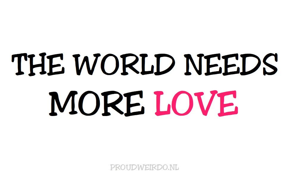 Let love rule!