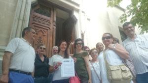La Asociación Hipotecados Activos PAH Madrid presentan denuncia a fiscalia