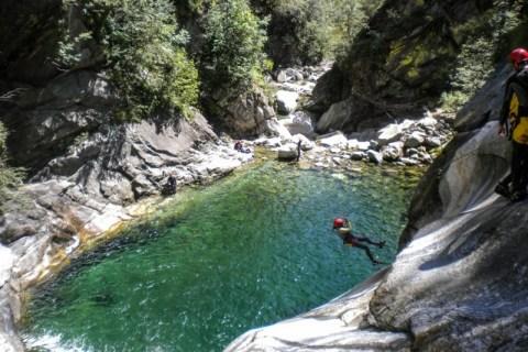 Canyoning Val Bodengo ESTATE 2021