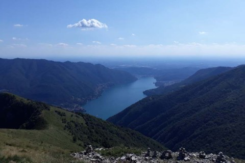 Monte Colmegnone, Valle d'Intelvi 17-04-2021