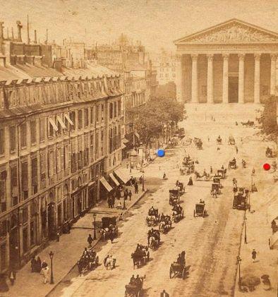 La Madeleine, a finals del segle XIX.