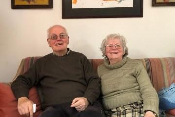 Le professeur Gjorgi Marjanovic et sa femme
