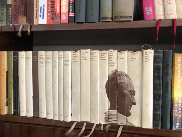 Livres d'Hermann Hesse chez Gjorgi Marjanovic