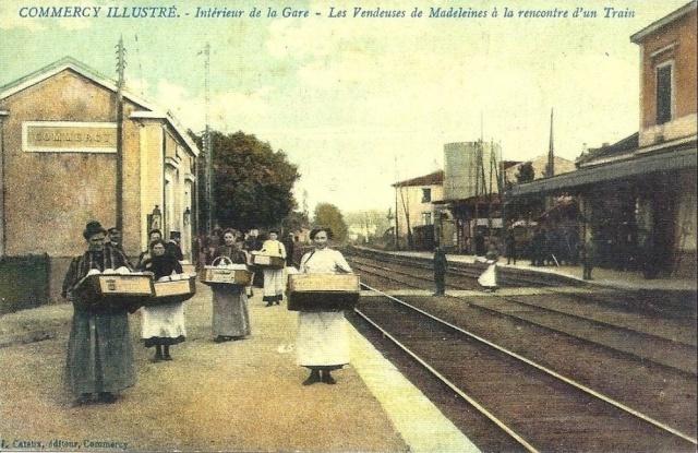 vendeuses de madeleines à Commercy