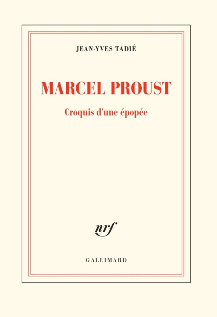 couverture de Marcel Proust, croquis d'une épopée