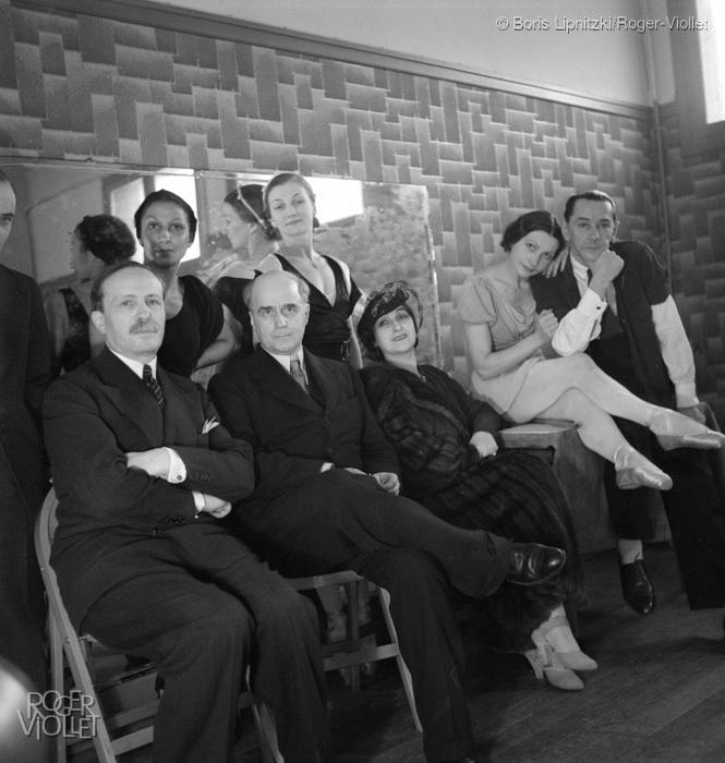 René Blum et les dans seurs des balettes russes de Monte-Carlo