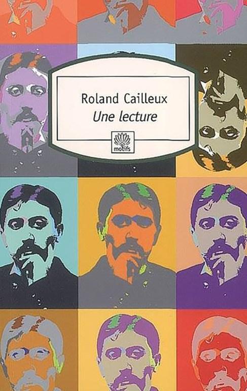 couverture d'Une lecture de roland Cailleux
