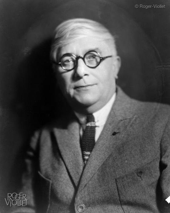 Portrait photo de Maurice Maeterlinck