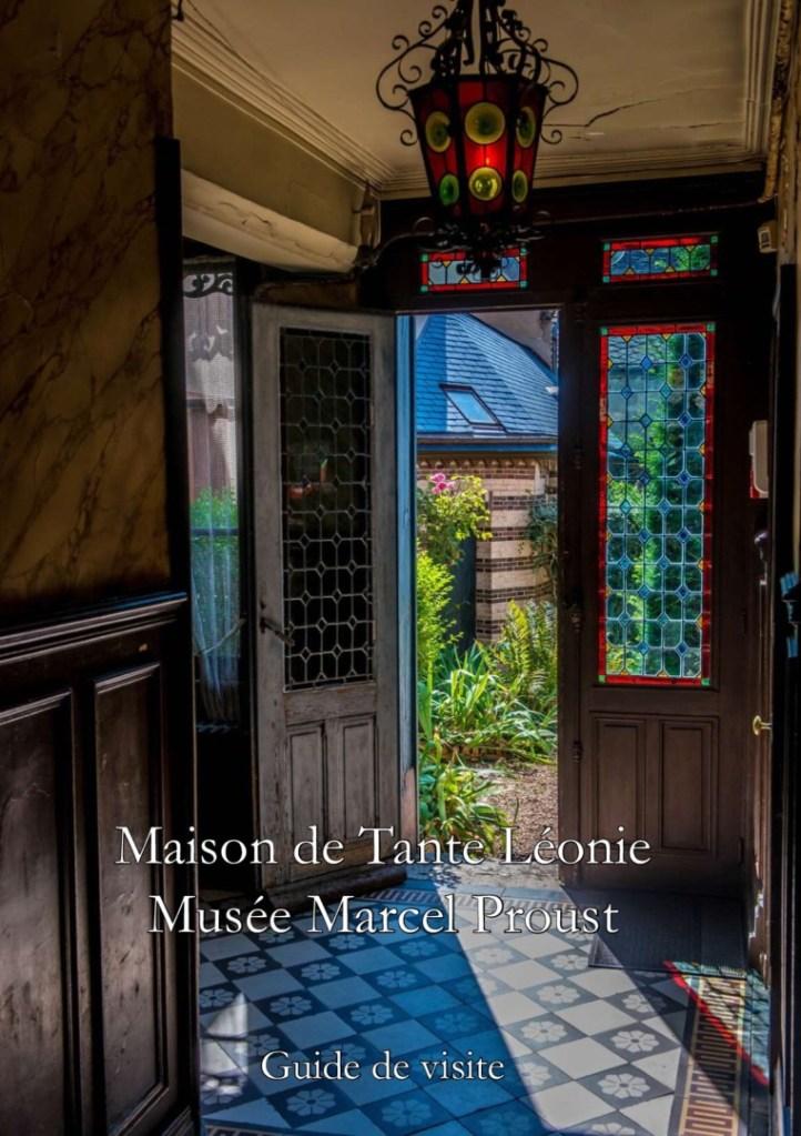 Couverture guide de visite du Musée Marcel Proust