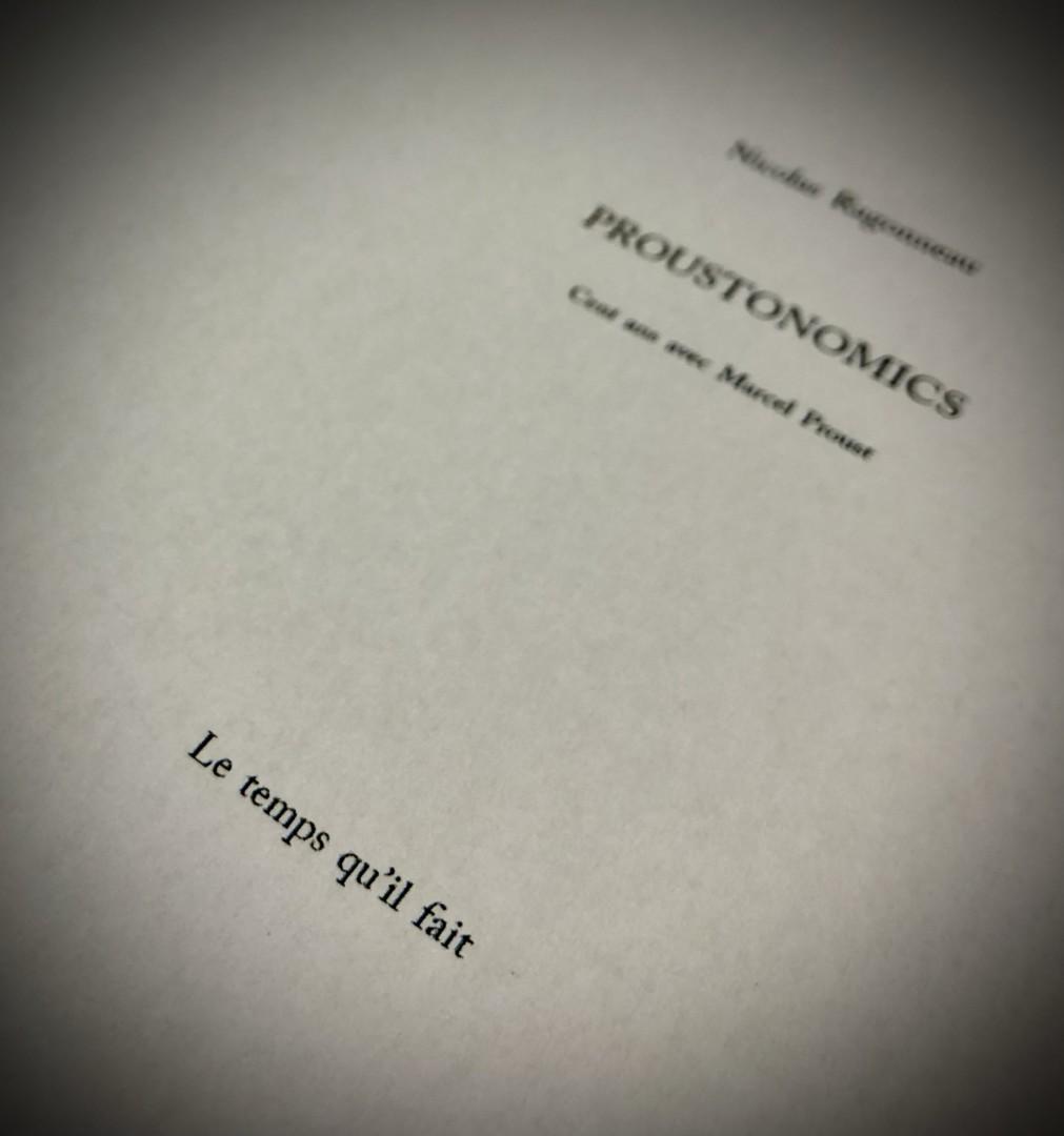 100000 visites plus tard : Proustonomics, le livre