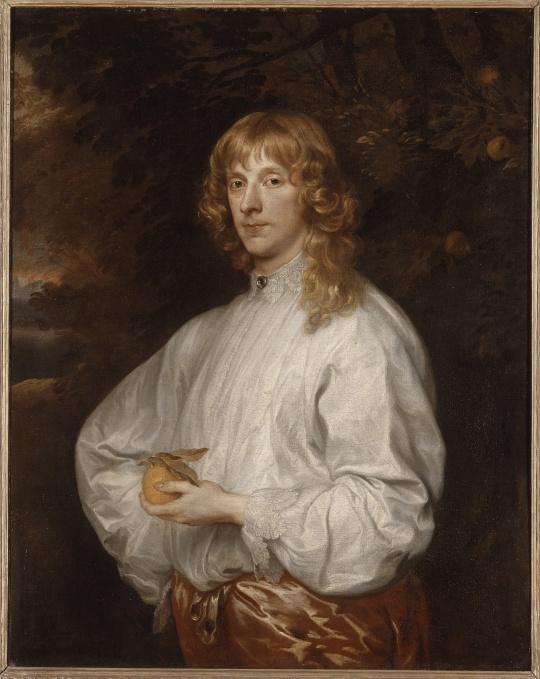 Portrait de James Stuart par van Dyck