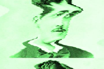 photographie déformée de Marcel Proust jeune