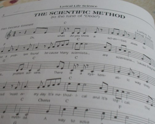 Song - The Scientific Method - Sheet Music with Guitar Chords
