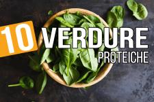 10 verdure proteiche