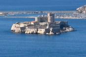 Le château d'If, face à Marseille.