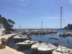 Port view Calanque Mejan