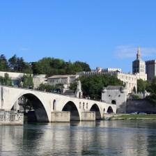 Palais des Papes and Pont d'Avignon