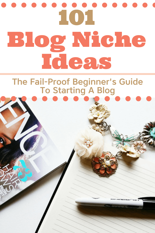 Finding the perfect blog niche is HARD WORK! Everybody is looking for blog topics that are in high demand, will make money, and become profitable. I'm giving you 101 blog niche ideas, so you can brainstorm the perfect blog topic for your blog! It's an exhaustive list of the most popular blog niche ideas ever!