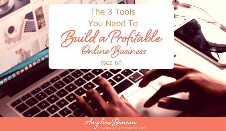 {sos tv} Episode #1: The 3 Tools You Need To Build A Profitable Online Business