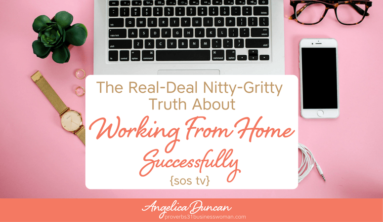 {SOS TV} Episode #18 – The Real-Deal Nitty-Gritty Truth About Working From Home Successfully