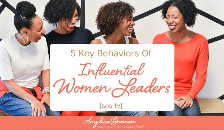 {SOS TV} Episode #19: 5 Key Behaviors of Influential Women Leaders