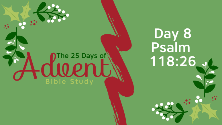 25 Days of Advent Bible Study Series {Day 8}