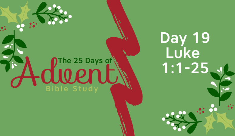 25 Days of Advent Bible Study Series {Day 19}