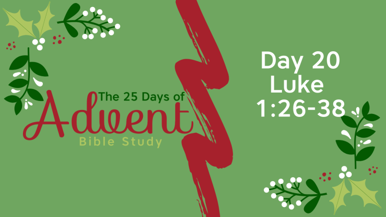 25 Days of Advent Bible Study Series {Day 20}