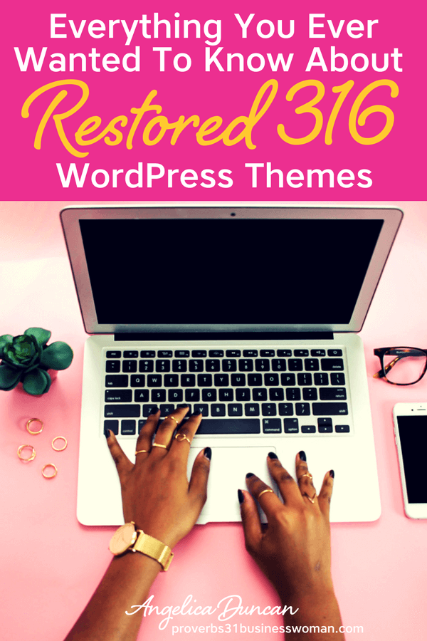 Restored 316 WordPress Themes are perfect for women bloggers, women entrepreneurs, and women coaches. They are modern, chic, and beautiful! If you are looking for a feminine WordPress Theme for your business or blog, then look no further!